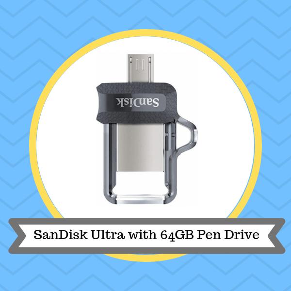 SanDisk Ultra with 64GB Dual USB 3.0 OTG Pen Drive