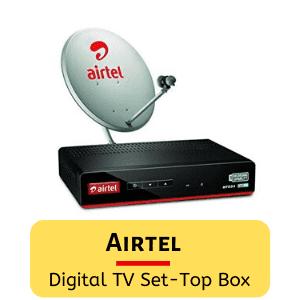 Airtel digital TV set-top box