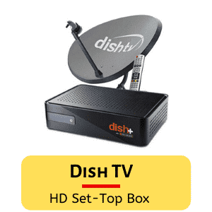 Dish TVDISH TV HD Premium connection-all India