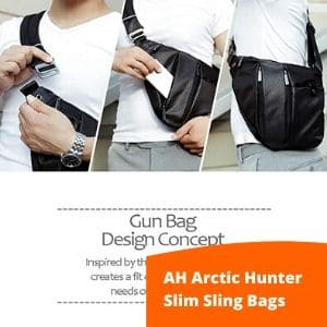 AH arctic hunter slim sling bag
