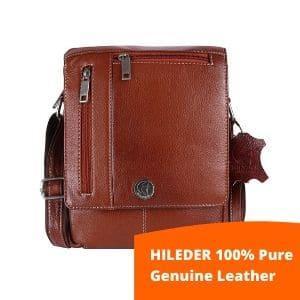HILEDER 100% Pure Genuine Leather bag