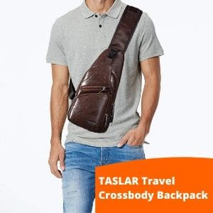 TASER travel Crossbody Sling bag