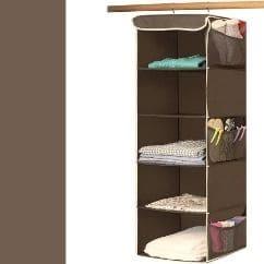 SimpleHouseware 5 Shelves Hanging Closet