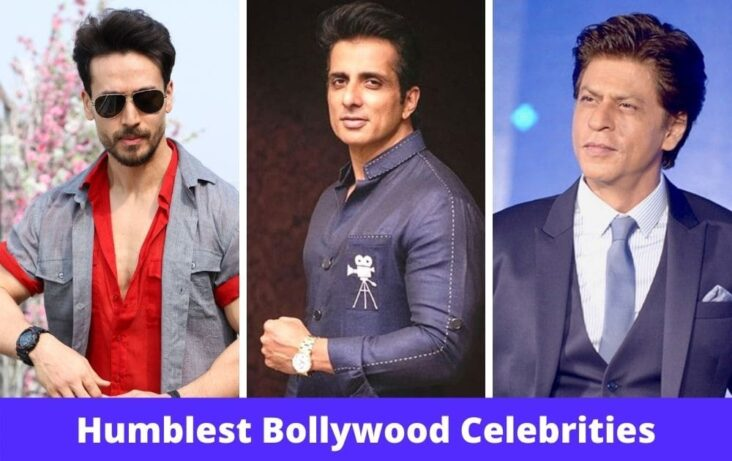 Top 10 Humble Bollywood Celebrities