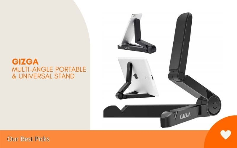 best cell phone stands - GIZGA Multi-Angle Portable & Universal Stand