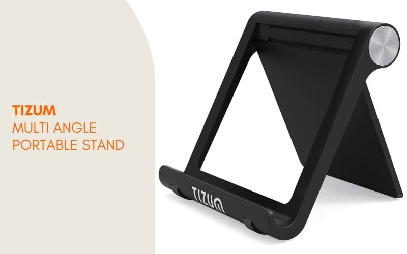smartphone stand for deskcell phone holders - Tizum Multi Angle Portable Stand